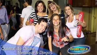Foto Quintal da Clube com Henrique & Diego 14
