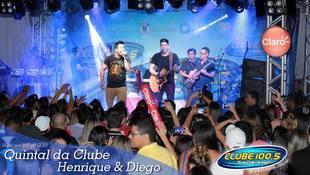 Foto Quintal da Clube com Henrique & Diego 18