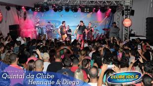 Foto Quintal da Clube com Henrique & Diego 21