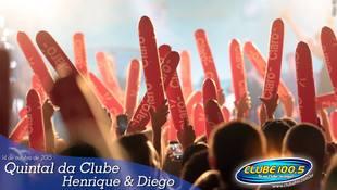 Foto Quintal da Clube com Henrique & Diego 22