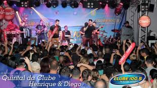 Foto Quintal da Clube com Henrique & Diego 26