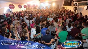 Foto Quintal da Clube com Henrique & Diego 54