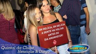 Foto Quintal da Clube com Henrique & Diego 56