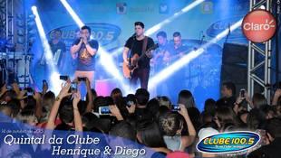 Foto Quintal da Clube com Henrique & Diego 61