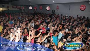 Foto Quintal da Clube com Henrique & Diego 63