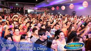 Foto Quintal da Clube com Henrique & Diego 74