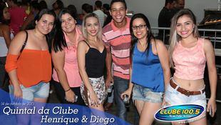 Foto Quintal da Clube com Henrique & Diego 77