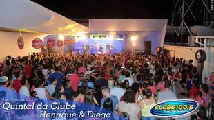 Foto Quintal da Clube com Henrique & Diego 80
