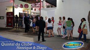 Foto Quintal da Clube com Henrique & Diego 82
