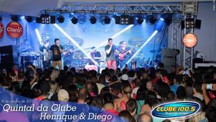 Foto Quintal da Clube com Henrique & Diego 85