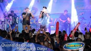 Foto Quintal da Clube com Henrique & Diego 90