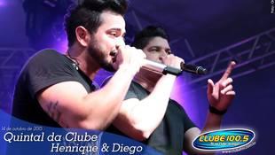 Foto Quintal da Clube com Henrique & Diego 92