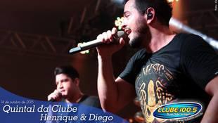 Foto Quintal da Clube com Henrique & Diego 94