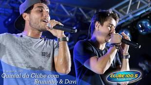 Foto Quintal da Clube com Bruninho & Davi 1