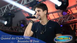 Foto Quintal da Clube com Bruninho & Davi 9