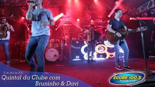 Foto Quintal da Clube com Bruninho & Davi 22