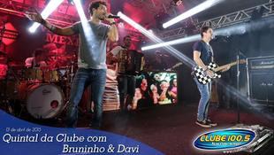 Foto Quintal da Clube com Bruninho & Davi 50