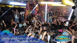 Foto Quintal da Clube com Bruninho & Davi 88