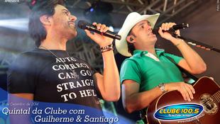 Foto Quintal da Clube com Guilherme & Santiago 1