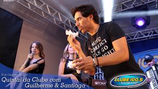 Foto Quintal da Clube com Guilherme & Santiago 2