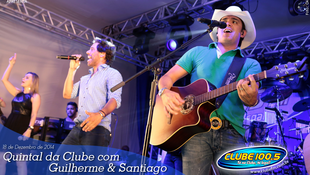 Foto Quintal da Clube com Guilherme & Santiago 4