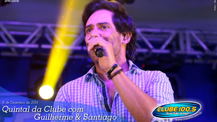 Foto Quintal da Clube com Guilherme & Santiago 5
