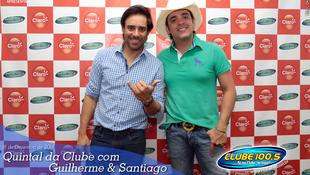 Foto Quintal da Clube com Guilherme & Santiago 100