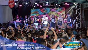 Foto Henrique & Juliano no #QuintalDaClube 1