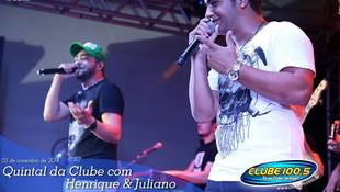 Foto Henrique & Juliano no #QuintalDaClube 4