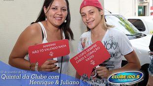 Foto Henrique & Juliano no #QuintalDaClube 4
