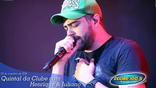 Foto Henrique & Juliano no #QuintalDaClube 5