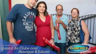 Foto Henrique & Juliano no #QuintalDaClube 7