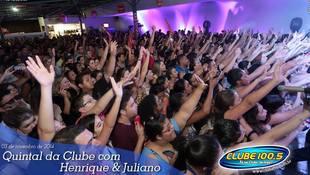 Foto Henrique & Juliano no #QuintalDaClube 8