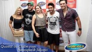 Foto Henrique & Juliano no #QuintalDaClube 9