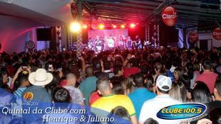 Foto Henrique & Juliano no #QuintalDaClube 10