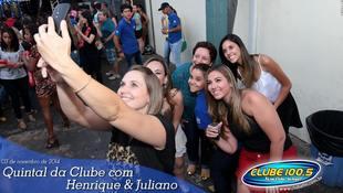Foto Henrique & Juliano no #QuintalDaClube 11