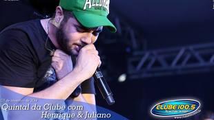Foto Henrique & Juliano no #QuintalDaClube 12