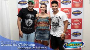 Foto Henrique & Juliano no #QuintalDaClube 16