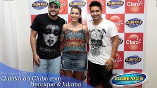 Foto Henrique & Juliano no #QuintalDaClube 16