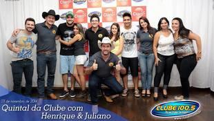 Foto Henrique & Juliano no #QuintalDaClube 18