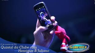 Foto Henrique & Juliano no #QuintalDaClube 19
