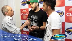 Foto Henrique & Juliano no #QuintalDaClube 22
