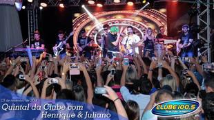 Foto Quintal da Clube com Guilherme & Santiago 250