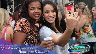 Foto Henrique & Juliano no #QuintalDaClube 24