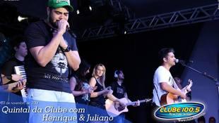 Foto Henrique & Juliano no #QuintalDaClube 25