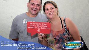 Foto Henrique & Juliano no #QuintalDaClube 27