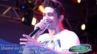 Foto Quintal da Clube com Guilherme & Santiago 255