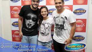 Foto Henrique & Juliano no #QuintalDaClube 29