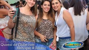 Foto Henrique & Juliano no #QuintalDaClube 30