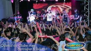 Foto Henrique & Juliano no #QuintalDaClube 31